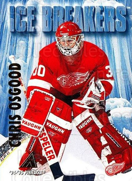 1994-95 Pinnacle #471 Chris Osgood<br/>4 In Stock - $1.00 each - <a href=https://centericecollectibles.foxycart.com/cart?name=1994-95%20Pinnacle%20%23471%20Chris%20Osgood...&quantity_max=4&price=$1.00&code=151632 class=foxycart> Buy it now! </a>