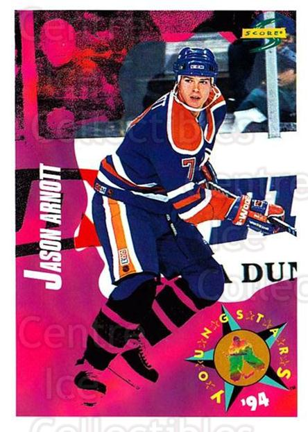 1994-95 Score #254 Jason Arnott<br/>4 In Stock - $1.00 each - <a href=https://centericecollectibles.foxycart.com/cart?name=1994-95%20Score%20%23254%20Jason%20Arnott...&quantity_max=4&price=$1.00&code=151909 class=foxycart> Buy it now! </a>