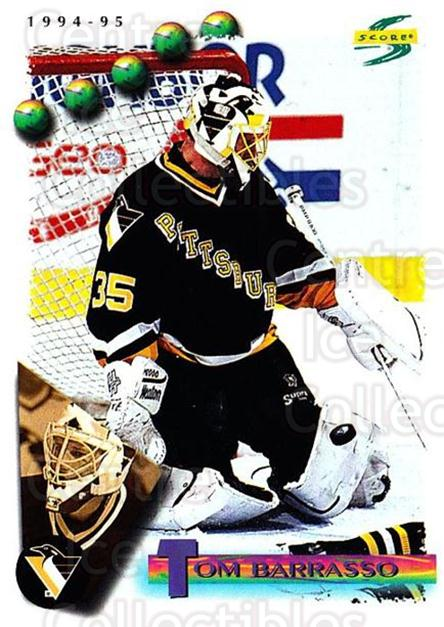 1994-95 Score #31 Tom Barrasso<br/>2 In Stock - $1.00 each - <a href=https://centericecollectibles.foxycart.com/cart?name=1994-95%20Score%20%2331%20Tom%20Barrasso...&price=$1.00&code=151934 class=foxycart> Buy it now! </a>