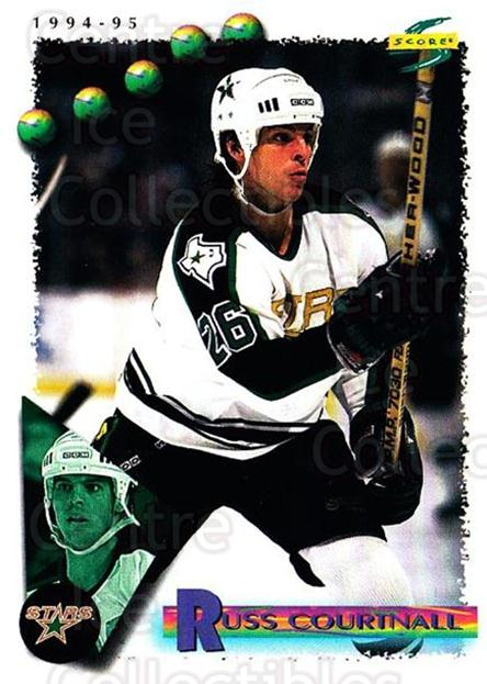 1994-95 Score #43 Russ Courtnall<br/>3 In Stock - $1.00 each - <a href=https://centericecollectibles.foxycart.com/cart?name=1994-95%20Score%20%2343%20Russ%20Courtnall...&quantity_max=3&price=$1.00&code=151947 class=foxycart> Buy it now! </a>