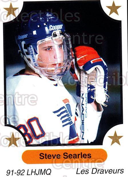 1991-92 7th Inning Sketch QMJHL #119 Steve Searles<br/>7 In Stock - $1.00 each - <a href=https://centericecollectibles.foxycart.com/cart?name=1991-92%207th%20Inning%20Sketch%20QMJHL%20%23119%20Steve%20Searles...&quantity_max=7&price=$1.00&code=15204 class=foxycart> Buy it now! </a>