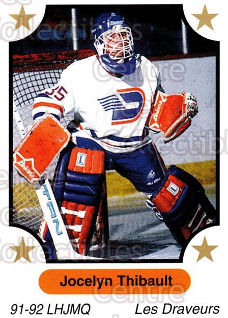 1991-92 7th Inning Sketch QMJHL #123 Jocelyn Thibault<br/>2 In Stock - $1.00 each - <a href=https://centericecollectibles.foxycart.com/cart?name=1991-92%207th%20Inning%20Sketch%20QMJHL%20%23123%20Jocelyn%20Thibaul...&quantity_max=2&price=$1.00&code=15209 class=foxycart> Buy it now! </a>