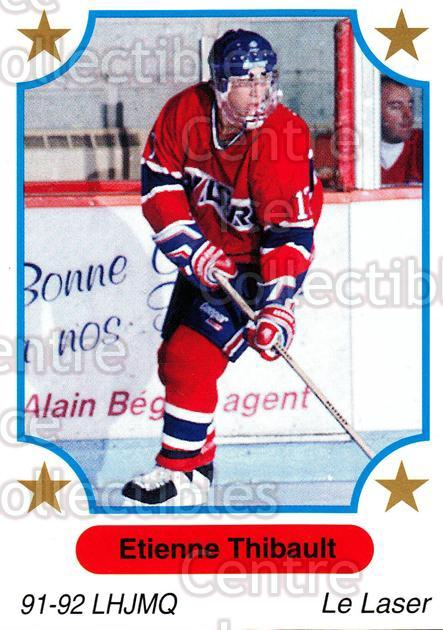 1991-92 7th Inning Sketch QMJHL #13 Etienne Thibault<br/>7 In Stock - $1.00 each - <a href=https://centericecollectibles.foxycart.com/cart?name=1991-92%207th%20Inning%20Sketch%20QMJHL%20%2313%20Etienne%20Thibaul...&price=$1.00&code=15216 class=foxycart> Buy it now! </a>
