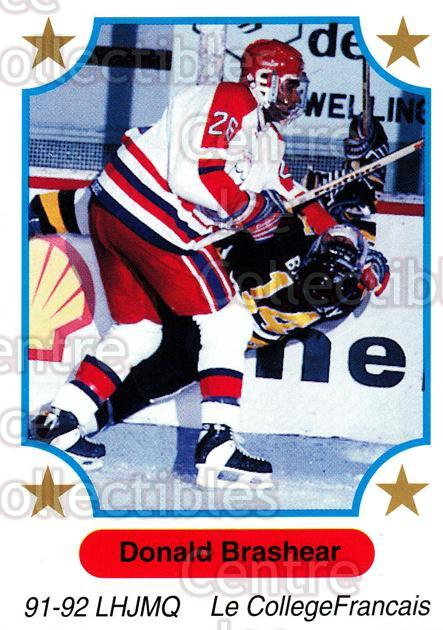 1991-92 7th Inning Sketch QMJHL #139 Donald Brashear<br/>4 In Stock - $1.00 each - <a href=https://centericecollectibles.foxycart.com/cart?name=1991-92%207th%20Inning%20Sketch%20QMJHL%20%23139%20Donald%20Brashear...&quantity_max=4&price=$1.00&code=15226 class=foxycart> Buy it now! </a>