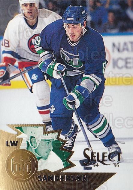 1994-95 Select #68 Geoff Sanderson<br/>4 In Stock - $1.00 each - <a href=https://centericecollectibles.foxycart.com/cart?name=1994-95%20Select%20%2368%20Geoff%20Sanderson...&quantity_max=4&price=$1.00&code=152291 class=foxycart> Buy it now! </a>