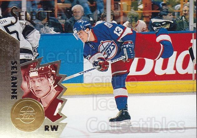 1994-95 Select #74 Teemu Selanne<br/>3 In Stock - $2.00 each - <a href=https://centericecollectibles.foxycart.com/cart?name=1994-95%20Select%20%2374%20Teemu%20Selanne...&quantity_max=3&price=$2.00&code=152298 class=foxycart> Buy it now! </a>