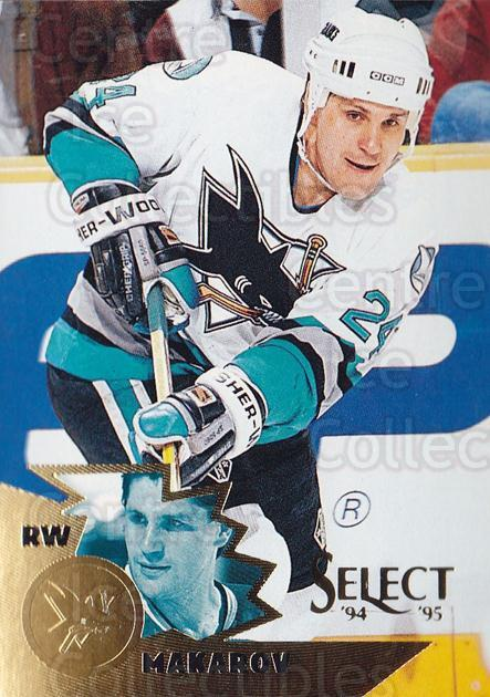 1994-95 Select #8 Sergei Makarov<br/>4 In Stock - $1.00 each - <a href=https://centericecollectibles.foxycart.com/cart?name=1994-95%20Select%20%238%20Sergei%20Makarov...&quantity_max=4&price=$1.00&code=152304 class=foxycart> Buy it now! </a>
