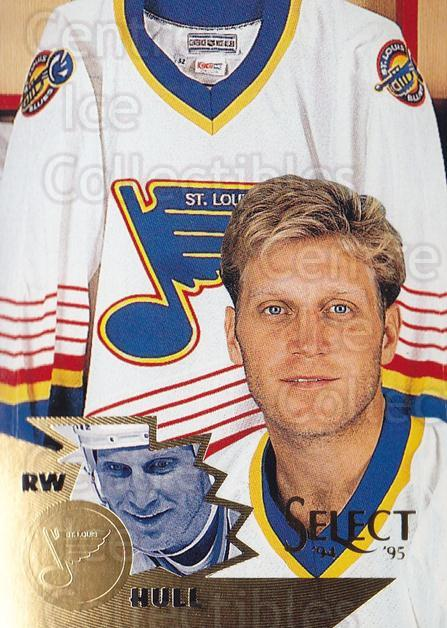 1994-95 Select #97 Brett Hull<br/>4 In Stock - $2.00 each - <a href=https://centericecollectibles.foxycart.com/cart?name=1994-95%20Select%20%2397%20Brett%20Hull...&quantity_max=4&price=$2.00&code=152323 class=foxycart> Buy it now! </a>