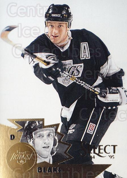 1994-95 Select #98 Rob Blake<br/>4 In Stock - $1.00 each - <a href=https://centericecollectibles.foxycart.com/cart?name=1994-95%20Select%20%2398%20Rob%20Blake...&quantity_max=4&price=$1.00&code=152324 class=foxycart> Buy it now! </a>