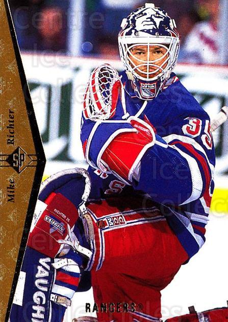 1994-95 SP #75 Mike Richter<br/>7 In Stock - $1.00 each - <a href=https://centericecollectibles.foxycart.com/cart?name=1994-95%20SP%20%2375%20Mike%20Richter...&quantity_max=7&price=$1.00&code=152377 class=foxycart> Buy it now! </a>