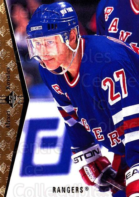 1994-95 SP #76 Alexei Kovalev<br/>7 In Stock - $1.00 each - <a href=https://centericecollectibles.foxycart.com/cart?name=1994-95%20SP%20%2376%20Alexei%20Kovalev...&quantity_max=7&price=$1.00&code=152378 class=foxycart> Buy it now! </a>