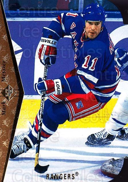1994-95 SP Die Cuts #73 Mark Messier<br/>10 In Stock - $2.00 each - <a href=https://centericecollectibles.foxycart.com/cart?name=1994-95%20SP%20Die%20Cuts%20%2373%20Mark%20Messier...&quantity_max=10&price=$2.00&code=152411 class=foxycart> Buy it now! </a>