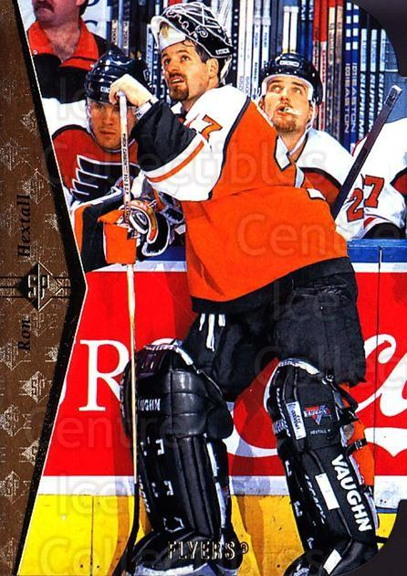 1994-95 SP Die Cuts #87 Ron Hextall<br/>4 In Stock - $2.00 each - <a href=https://centericecollectibles.foxycart.com/cart?name=1994-95%20SP%20Die%20Cuts%20%2387%20Ron%20Hextall...&quantity_max=4&price=$2.00&code=152426 class=foxycart> Buy it now! </a>