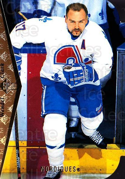 1994-95 SP Die Cuts #97 Wendel Clark<br/>3 In Stock - $2.00 each - <a href=https://centericecollectibles.foxycart.com/cart?name=1994-95%20SP%20Die%20Cuts%20%2397%20Wendel%20Clark...&quantity_max=3&price=$2.00&code=152434 class=foxycart> Buy it now! </a>