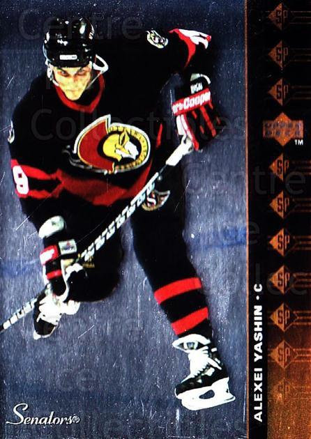 1994-95 Upper Deck SP Inserts #55 Alexei Yashin<br/>5 In Stock - $1.00 each - <a href=https://centericecollectibles.foxycart.com/cart?name=1994-95%20Upper%20Deck%20SP%20Inserts%20%2355%20Alexei%20Yashin...&quantity_max=5&price=$1.00&code=152847 class=foxycart> Buy it now! </a>