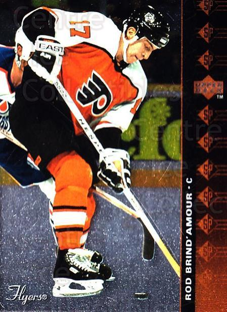 1994-95 Upper Deck SP Inserts #57 Rod Brind'Amour<br/>4 In Stock - $1.00 each - <a href=https://centericecollectibles.foxycart.com/cart?name=1994-95%20Upper%20Deck%20SP%20Inserts%20%2357%20Rod%20Brind'Amour...&quantity_max=4&price=$1.00&code=152849 class=foxycart> Buy it now! </a>