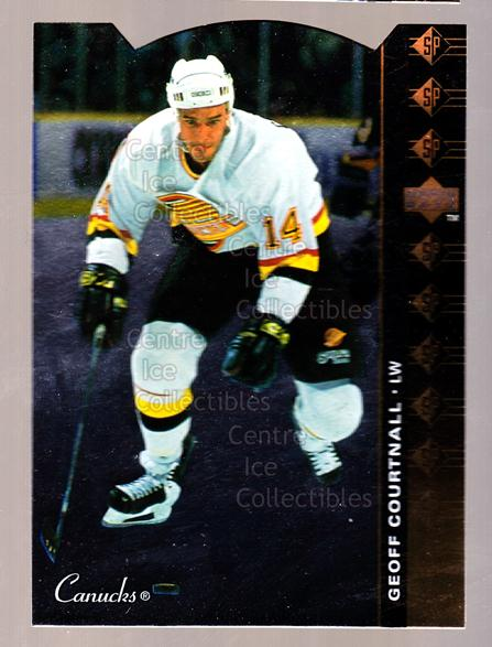 1994-95 Upper Deck SP Inserts Die Cuts #82 Geoff Courtnall<br/>12 In Stock - $2.00 each - <a href=https://centericecollectibles.foxycart.com/cart?name=1994-95%20Upper%20Deck%20SP%20Inserts%20Die%20Cuts%20%2382%20Geoff%20Courtnall...&quantity_max=12&price=$2.00&code=152896 class=foxycart> Buy it now! </a>