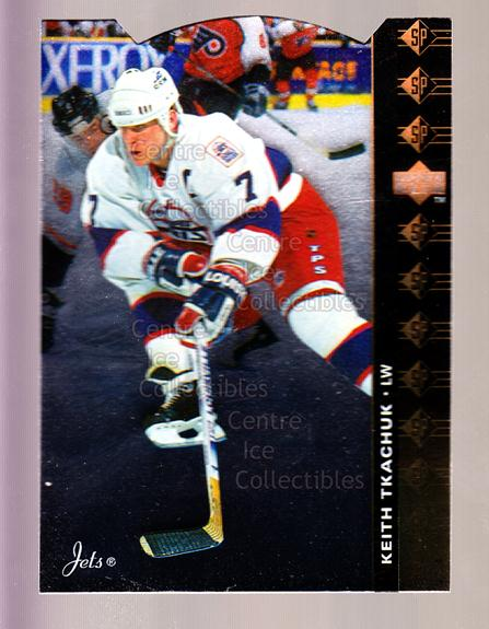 1994-95 Upper Deck SP Inserts Die Cuts #89 Keith Tkachuk<br/>10 In Stock - $2.00 each - <a href=https://centericecollectibles.foxycart.com/cart?name=1994-95%20Upper%20Deck%20SP%20Inserts%20Die%20Cuts%20%2389%20Keith%20Tkachuk...&quantity_max=10&price=$2.00&code=152902 class=foxycart> Buy it now! </a>