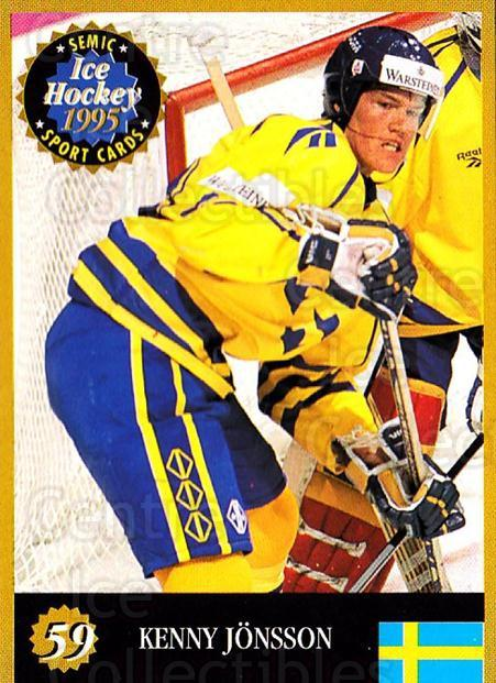 1995 Finnish Semic World Championships #59 Kenny Jonsson<br/>7 In Stock - $2.00 each - <a href=https://centericecollectibles.foxycart.com/cart?name=1995%20Finnish%20Semic%20World%20Championships%20%2359%20Kenny%20Jonsson...&quantity_max=7&price=$2.00&code=152926 class=foxycart> Buy it now! </a>