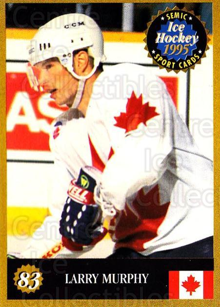 1995 Finnish Semic World Championships #83 Larry Murphy<br/>7 In Stock - $2.00 each - <a href=https://centericecollectibles.foxycart.com/cart?name=1995%20Finnish%20Semic%20World%20Championships%20%2383%20Larry%20Murphy...&quantity_max=7&price=$2.00&code=152947 class=foxycart> Buy it now! </a>