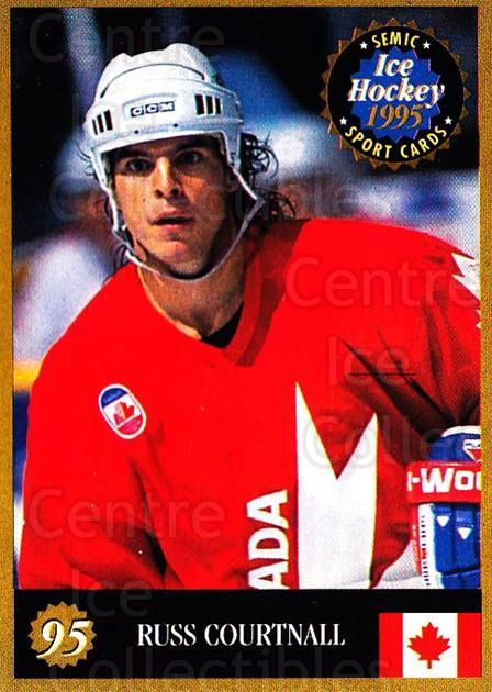 1995 Finnish Semic World Championships #95 Russ Courtnall<br/>11 In Stock - $2.00 each - <a href=https://centericecollectibles.foxycart.com/cart?name=1995%20Finnish%20Semic%20World%20Championships%20%2395%20Russ%20Courtnall...&quantity_max=11&price=$2.00&code=152953 class=foxycart> Buy it now! </a>