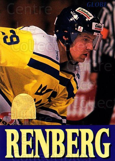 1995 Swedish Globe World Championships #261 Mikael Renberg<br/>12 In Stock - $2.00 each - <a href=https://centericecollectibles.foxycart.com/cart?name=1995%20Swedish%20Globe%20World%20Championships%20%23261%20Mikael%20Renberg...&price=$2.00&code=152955 class=foxycart> Buy it now! </a>