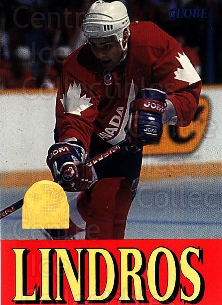 1995 Swedish Globe World Championships #263 Eric Lindros<br/>8 In Stock - $2.00 each - <a href=https://centericecollectibles.foxycart.com/cart?name=1995%20Swedish%20Globe%20World%20Championships%20%23263%20Eric%20Lindros...&quantity_max=8&price=$2.00&code=152957 class=foxycart> Buy it now! </a>