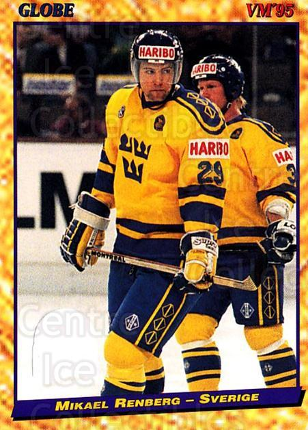 1995 Swedish Globe World Championships #29 Mikael Renberg<br/>11 In Stock - $2.00 each - <a href=https://centericecollectibles.foxycart.com/cart?name=1995%20Swedish%20Globe%20World%20Championships%20%2329%20Mikael%20Renberg...&price=$2.00&code=152963 class=foxycart> Buy it now! </a>