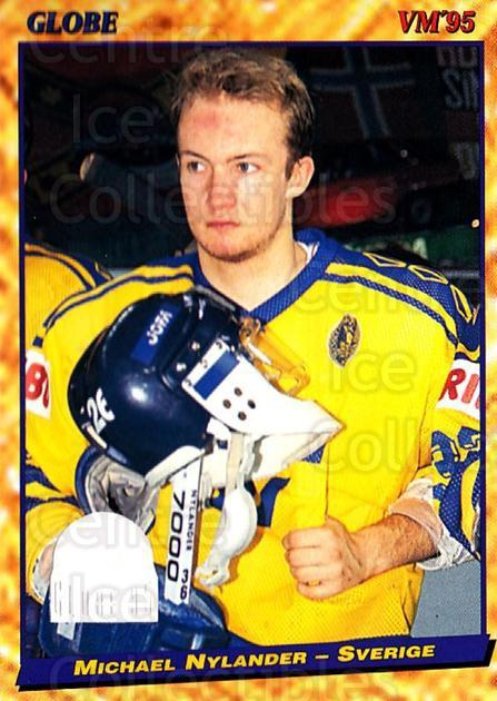 1995 Swedish Globe World Championships #35 Michael Nylander<br/>11 In Stock - $2.00 each - <a href=https://centericecollectibles.foxycart.com/cart?name=1995%20Swedish%20Globe%20World%20Championships%20%2335%20Michael%20Nylande...&price=$2.00&code=152970 class=foxycart> Buy it now! </a>