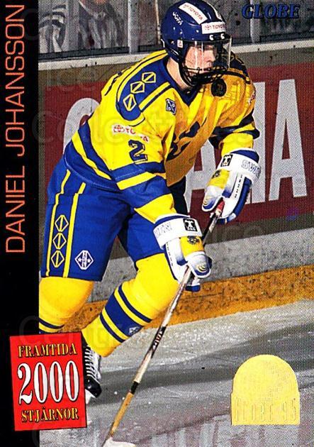 1995 Swedish Globe World Championships #56 Daniel Johansson<br/>11 In Stock - $2.00 each - <a href=https://centericecollectibles.foxycart.com/cart?name=1995%20Swedish%20Globe%20World%20Championships%20%2356%20Daniel%20Johansso...&price=$2.00&code=152993 class=foxycart> Buy it now! </a>