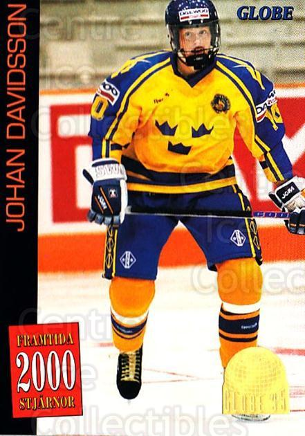 1995 Swedish Globe World Championships #62 Johan Davidsson<br/>11 In Stock - $2.00 each - <a href=https://centericecollectibles.foxycart.com/cart?name=1995%20Swedish%20Globe%20World%20Championships%20%2362%20Johan%20Davidsson...&quantity_max=11&price=$2.00&code=153000 class=foxycart> Buy it now! </a>
