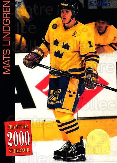 1995 Swedish Globe World Championships #63 Mats Lindgren<br/>11 In Stock - $2.00 each - <a href=https://centericecollectibles.foxycart.com/cart?name=1995%20Swedish%20Globe%20World%20Championships%20%2363%20Mats%20Lindgren...&price=$2.00&code=153001 class=foxycart> Buy it now! </a>