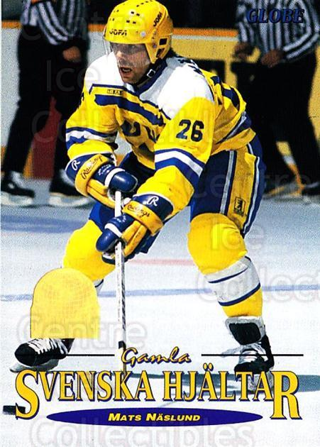 1995 Swedish Globe World Championships #72 Mats Naslund<br/>6 In Stock - $2.00 each - <a href=https://centericecollectibles.foxycart.com/cart?name=1995%20Swedish%20Globe%20World%20Championships%20%2372%20Mats%20Naslund...&price=$2.00&code=153009 class=foxycart> Buy it now! </a>