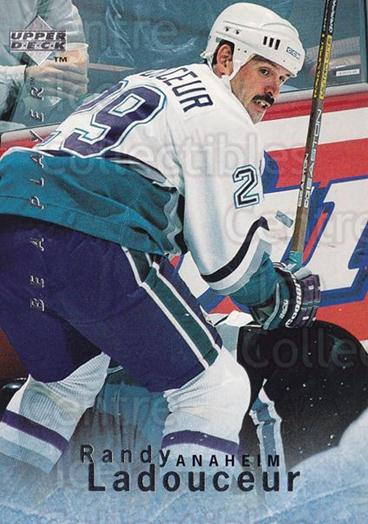 1995-96 Be A Player #37 Randy Ladouceur<br/>5 In Stock - $1.00 each - <a href=https://centericecollectibles.foxycart.com/cart?name=1995-96%20Be%20A%20Player%20%2337%20Randy%20Ladouceur...&quantity_max=5&price=$1.00&code=153068 class=foxycart> Buy it now! </a>