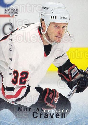 1995-96 Be A Player #46 Murray Craven<br/>4 In Stock - $1.00 each - <a href=https://centericecollectibles.foxycart.com/cart?name=1995-96%20Be%20A%20Player%20%2346%20Murray%20Craven...&quantity_max=4&price=$1.00&code=153078 class=foxycart> Buy it now! </a>