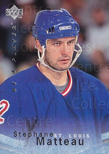 1995-96 Be A Player #5 Stephane Matteau<br/>5 In Stock - $1.00 each - <a href=https://centericecollectibles.foxycart.com/cart?name=1995-96%20Be%20A%20Player%20%235%20Stephane%20Mattea...&quantity_max=5&price=$1.00&code=153082 class=foxycart> Buy it now! </a>