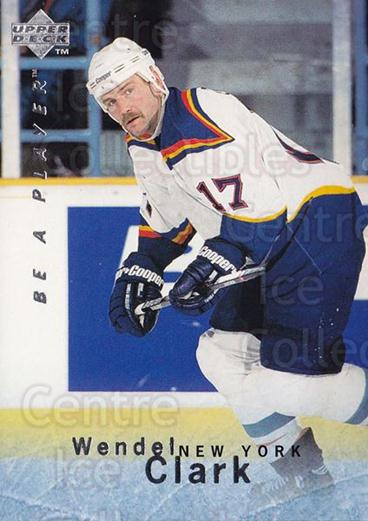 1995-96 Be A Player #55 Wendel Clark<br/>2 In Stock - $1.00 each - <a href=https://centericecollectibles.foxycart.com/cart?name=1995-96%20Be%20A%20Player%20%2355%20Wendel%20Clark...&quantity_max=2&price=$1.00&code=153088 class=foxycart> Buy it now! </a>