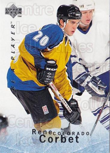 1995-96 Be A Player #78 Rene Corbet<br/>5 In Stock - $1.00 each - <a href=https://centericecollectibles.foxycart.com/cart?name=1995-96%20Be%20A%20Player%20%2378%20Rene%20Corbet...&quantity_max=5&price=$1.00&code=153113 class=foxycart> Buy it now! </a>