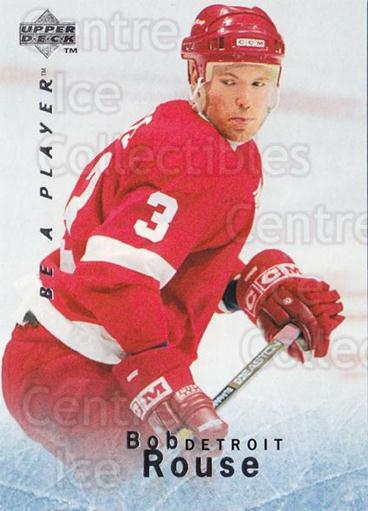 1995-96 Be A Player #88 Bob Rouse<br/>5 In Stock - $1.00 each - <a href=https://centericecollectibles.foxycart.com/cart?name=1995-96%20Be%20A%20Player%20%2388%20Bob%20Rouse...&quantity_max=5&price=$1.00&code=153124 class=foxycart> Buy it now! </a>