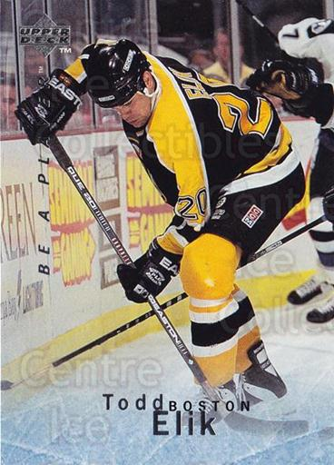 1995-96 Be A Player #89 Todd Elik<br/>4 In Stock - $1.00 each - <a href=https://centericecollectibles.foxycart.com/cart?name=1995-96%20Be%20A%20Player%20%2389%20Todd%20Elik...&quantity_max=4&price=$1.00&code=153125 class=foxycart> Buy it now! </a>