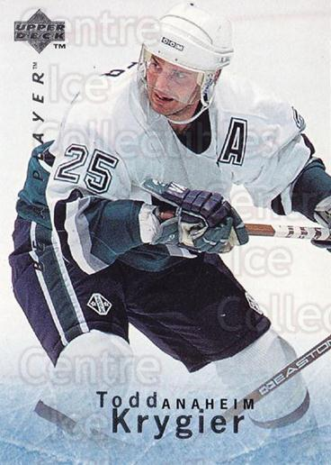 1995-96 Be A Player #93 Todd Krygier<br/>5 In Stock - $1.00 each - <a href=https://centericecollectibles.foxycart.com/cart?name=1995-96%20Be%20A%20Player%20%2393%20Todd%20Krygier...&quantity_max=5&price=$1.00&code=153130 class=foxycart> Buy it now! </a>