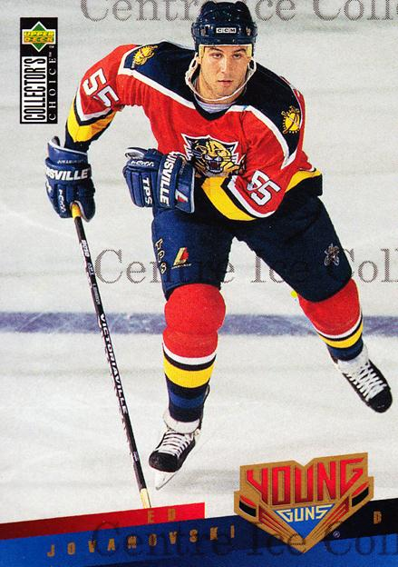 1995-96 Collectors Choice #399 Ed Jovanovski<br/>1 In Stock - $2.00 each - <a href=https://centericecollectibles.foxycart.com/cart?name=1995-96%20Collectors%20Choice%20%23399%20Ed%20Jovanovski...&quantity_max=1&price=$2.00&code=153369 class=foxycart> Buy it now! </a>