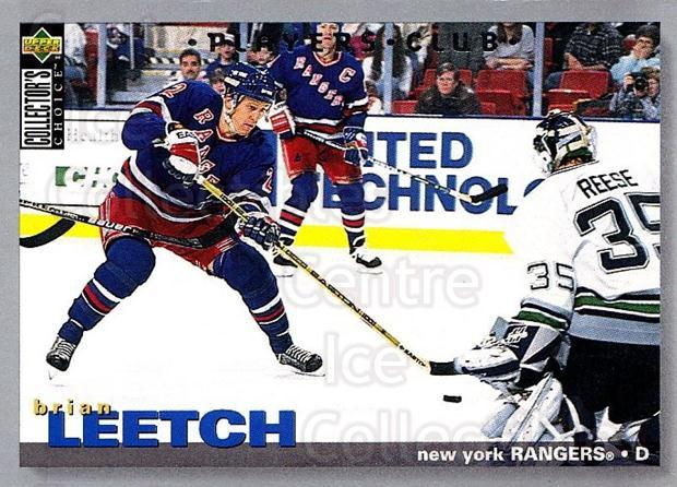 1995-96 Collectors Choice Players Club #247 Brian Leetch<br/>5 In Stock - $2.00 each - <a href=https://centericecollectibles.foxycart.com/cart?name=1995-96%20Collectors%20Choice%20Players%20Club%20%23247%20Brian%20Leetch...&quantity_max=5&price=$2.00&code=153450 class=foxycart> Buy it now! </a>