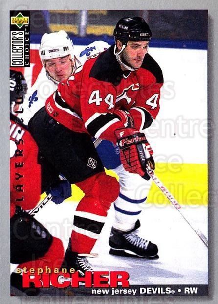 1995-96 Collectors Choice Players Club #250 Stephane Richer<br/>5 In Stock - $2.00 each - <a href=https://centericecollectibles.foxycart.com/cart?name=1995-96%20Collectors%20Choice%20Players%20Club%20%23250%20Stephane%20Richer...&quantity_max=5&price=$2.00&code=153454 class=foxycart> Buy it now! </a>