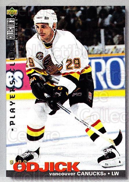 1995-96 Collectors Choice Players Club #290 Gino OdJick<br/>3 In Stock - $2.00 each - <a href=https://centericecollectibles.foxycart.com/cart?name=1995-96%20Collectors%20Choice%20Players%20Club%20%23290%20Gino%20OdJick...&quantity_max=3&price=$2.00&code=153493 class=foxycart> Buy it now! </a>