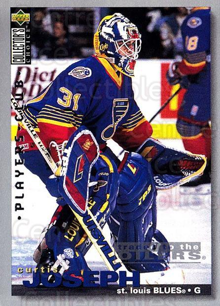 1995-96 Collectors Choice Players Club #291 Curtis Joseph<br/>3 In Stock - $2.00 each - <a href=https://centericecollectibles.foxycart.com/cart?name=1995-96%20Collectors%20Choice%20Players%20Club%20%23291%20Curtis%20Joseph...&quantity_max=3&price=$2.00&code=153494 class=foxycart> Buy it now! </a>