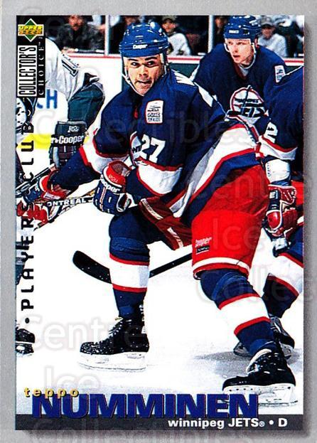 1995-96 Collectors Choice Players Club #292 Teppo Numminen<br/>5 In Stock - $2.00 each - <a href=https://centericecollectibles.foxycart.com/cart?name=1995-96%20Collectors%20Choice%20Players%20Club%20%23292%20Teppo%20Numminen...&quantity_max=5&price=$2.00&code=153495 class=foxycart> Buy it now! </a>