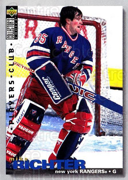 1995-96 Collectors Choice Players Club #306 Mike Richter<br/>3 In Stock - $2.00 each - <a href=https://centericecollectibles.foxycart.com/cart?name=1995-96%20Collectors%20Choice%20Players%20Club%20%23306%20Mike%20Richter...&quantity_max=3&price=$2.00&code=153511 class=foxycart> Buy it now! </a>