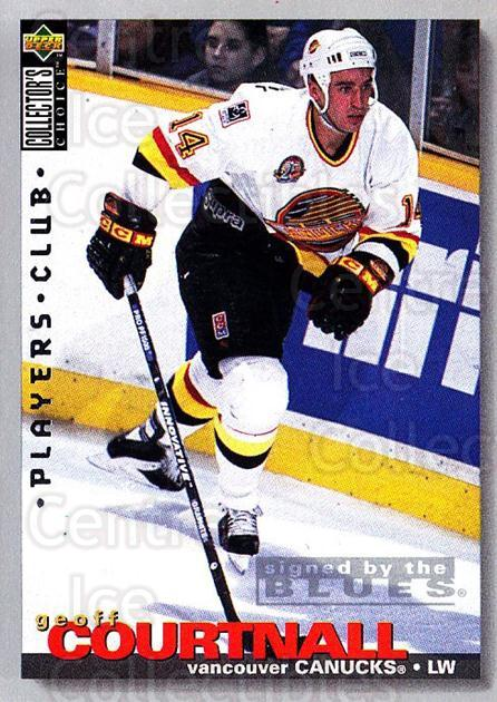 1995-96 Collectors Choice Players Club #31 Geoff Courtnall<br/>4 In Stock - $2.00 each - <a href=https://centericecollectibles.foxycart.com/cart?name=1995-96%20Collectors%20Choice%20Players%20Club%20%2331%20Geoff%20Courtnall...&quantity_max=4&price=$2.00&code=153515 class=foxycart> Buy it now! </a>