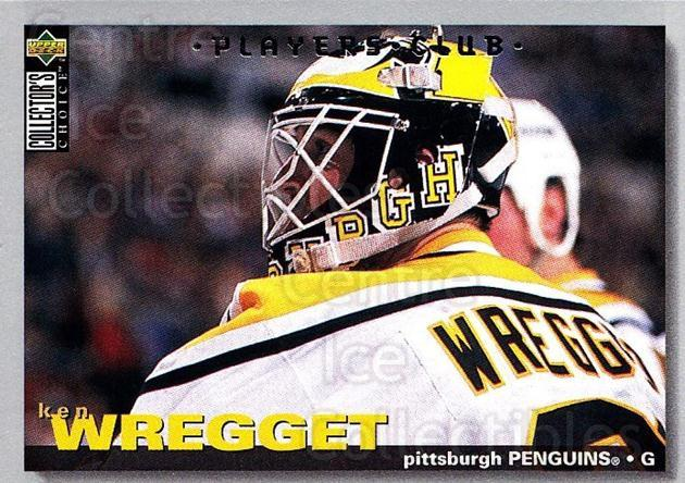 1995-96 Collectors Choice Players Club #314 Ken Wregget<br/>5 In Stock - $2.00 each - <a href=https://centericecollectibles.foxycart.com/cart?name=1995-96%20Collectors%20Choice%20Players%20Club%20%23314%20Ken%20Wregget...&quantity_max=5&price=$2.00&code=153520 class=foxycart> Buy it now! </a>